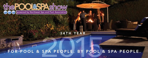 Come see us aqua rita table for Pool spa show vegas 2015